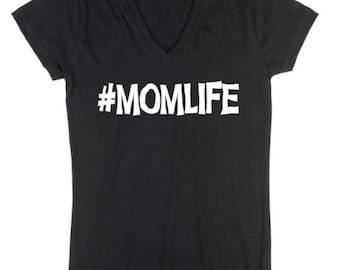 MomLife T Shirt, New Mom, Soccer Mom, Custom T Shirt