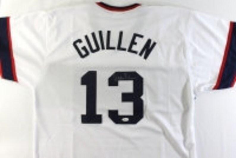 8a5ca9b7283 Ozzie Guillen Signed White Sox Jersey JSA COABaseball