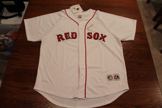 buy online ed7b2 6cea1 Jim Rice Autographed Boston Red Sox, Majestic MLB Jersey, Size xL, Signed  on Front, PSA/DNA Authentication, Boston Fans, Sox Fans