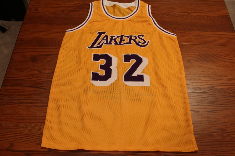 a95ede68b Magic Johnson Autographed JSA Certified Limited