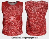 Red  Dragon Top, Design &...