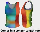 Colorful Fitted Tank, Des...