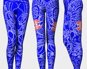 Royal Blue Dragon Yoga Pa...