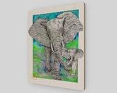 FENG SHUI Elephant and Ba...