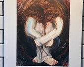 8x10 Art Print on 11x14 M...