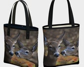 Tote Bag - Deer Love: Bac...