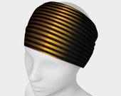 Gold and Black Headband b...