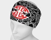 Headband - Red/Black Pros...