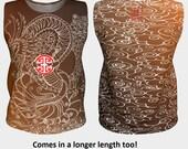 Brown Dragon Top, Design ...