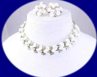 Vintage Jewelry Set Jewelry Set Choker Earrings Choker Necklace Vintage Necklace Vintage Choker Vintage Earrings Vintage Jewelry Costume