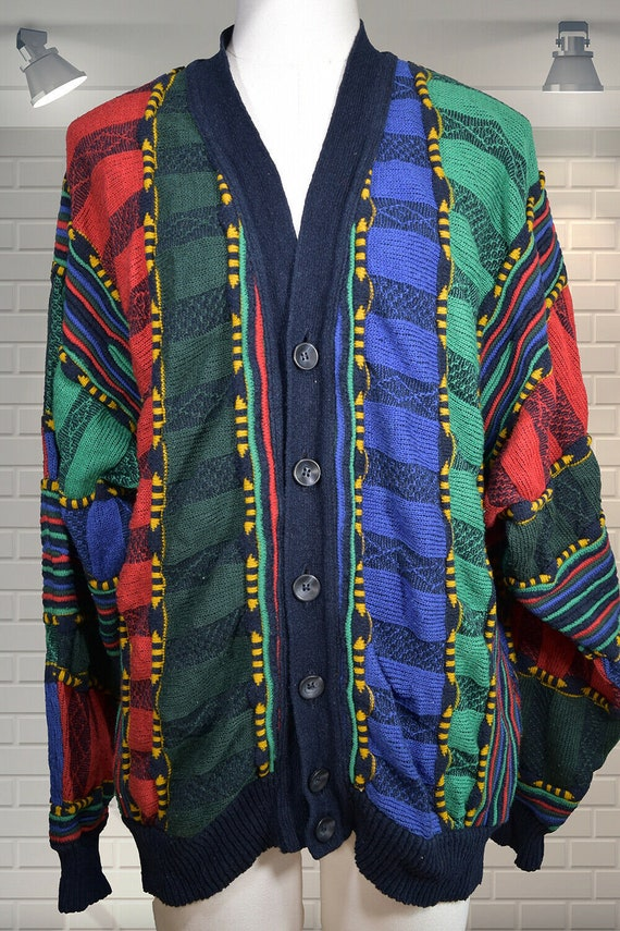 Old School CARLO COLUCCI Silk & Wool Oversized Bag