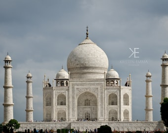 Taj Mahal   Agra, India ~ Indian Culture and Architecture ~ Travel Photography ~ Photography on Canvas
