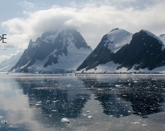Mountains I   South Shetland Islands, Antarctica ~ Glacial and Mountain Landscape ~ Antarctic Exploration ~ Photography on Canvas