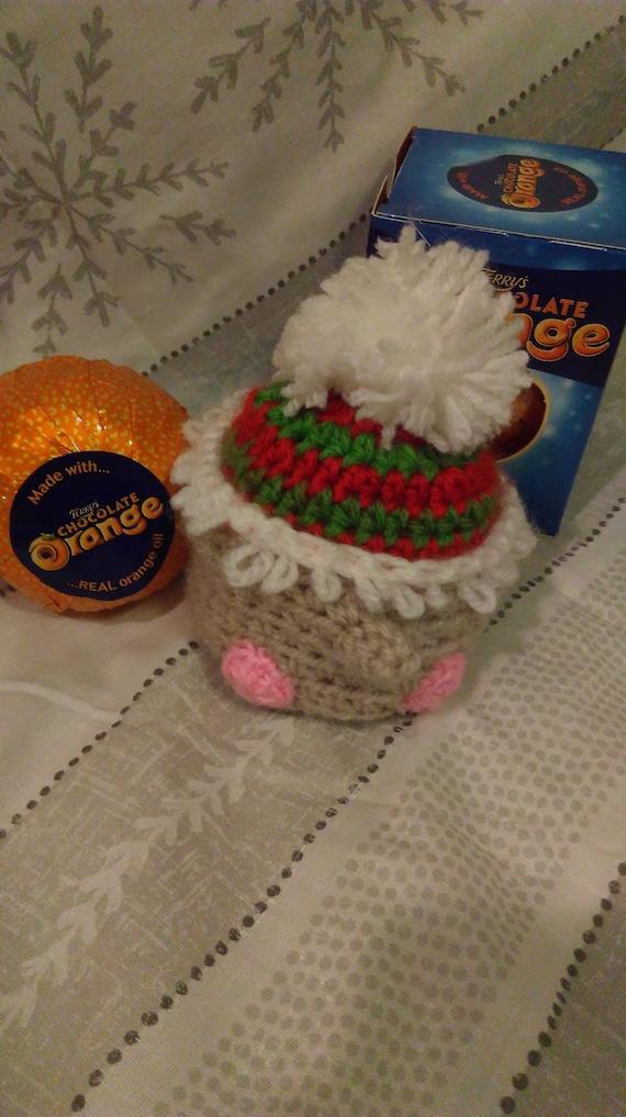 Crochet Elf Chocolate Orange Cover  b6c05dc4c8f