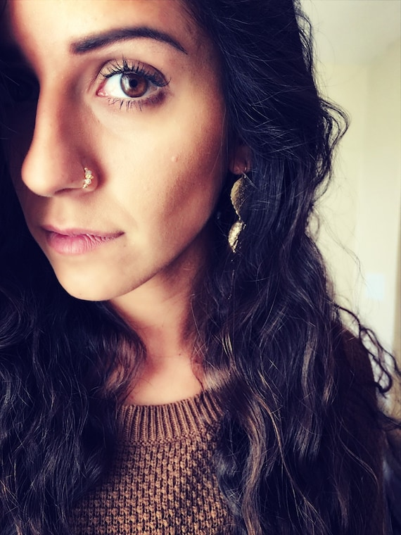 Nose Ring Indian Nose Ring Septum Handmade Gift Jewelry Etsy