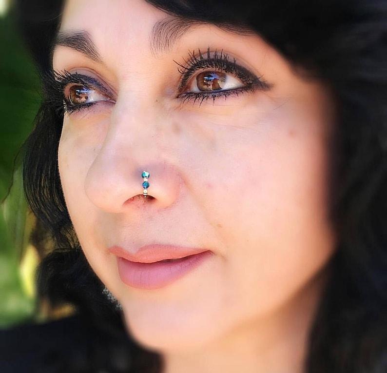 Nose Ring Indian Nose Ring Septum Handmade Gift Women Etsy