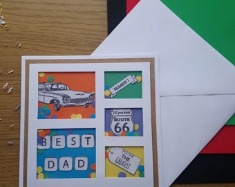 Best Dad shaker Cards. Fathers day or birthday card