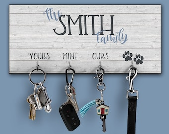 Key Holder, Personalized Key Holder, Key Hook, Key Hanger, Key Rack, Key Organizer, Key Hanger for Wall, Key Holders, Wall Key Holder