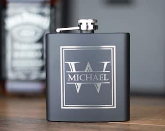 Groomsmen Flask, Flask, Personalized Flask, Groomsmen Gift Flask, Engraved Flask, Custom Flask, Wedding Flask, Hip Flask, Monogrammed Flask