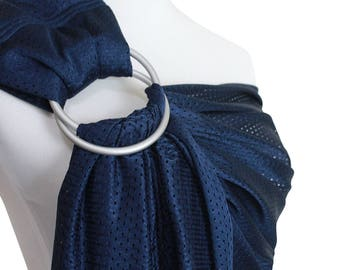 Baby water ring sling summer mesh sling baby wrap carrier baby wrap  in the shower, in the pool, at the water park and at the beach