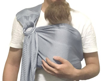 Baby water ring sling mesh sling baby carrier wrap for summer hot weather pool beach