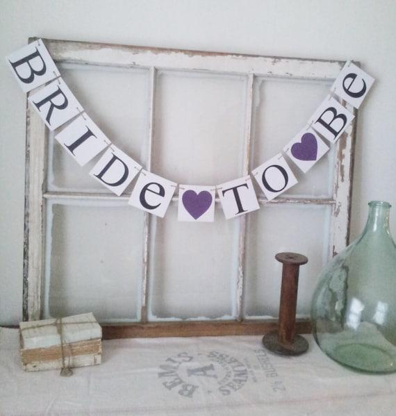 Purple Bridal Shower Purple Wedding Decor Plum Purple