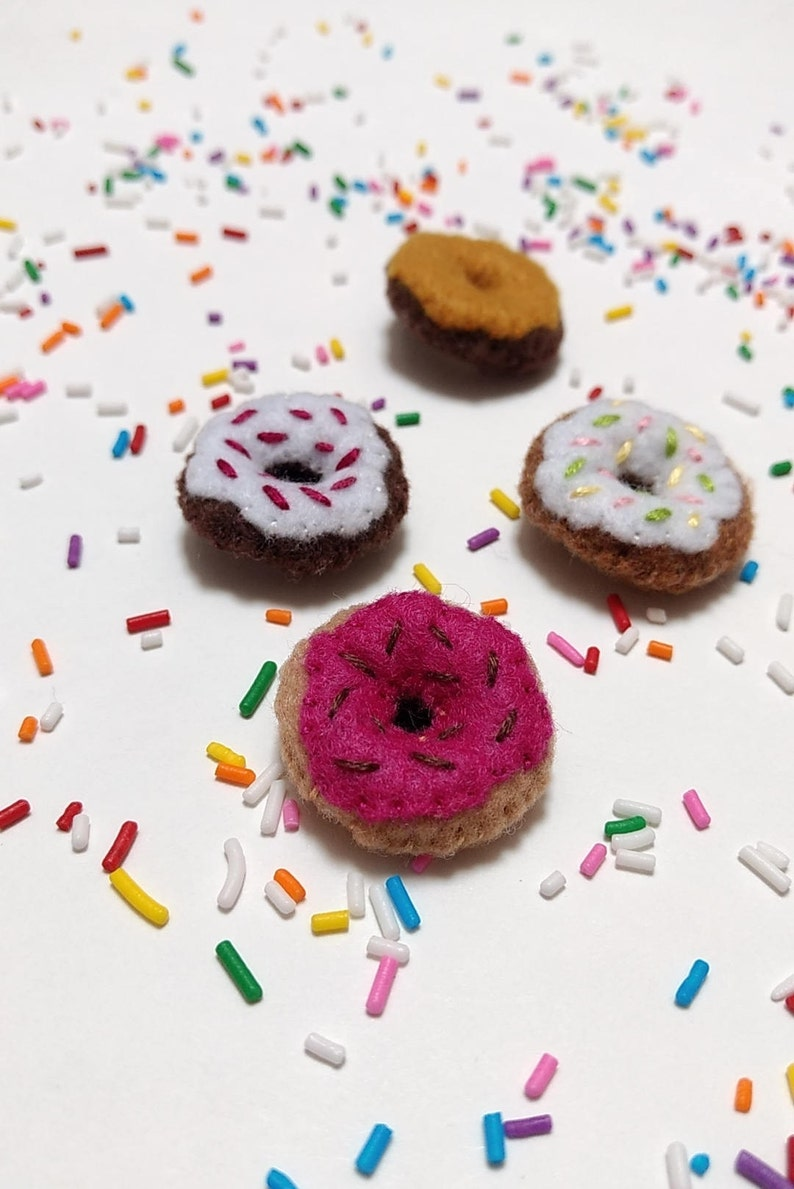 Gifts For Foodies Cute Magnets Funny Food Gift Gifts Under 20 Donut Fridge Magnets Gifts For Best Friends. Small Christmas Gifts