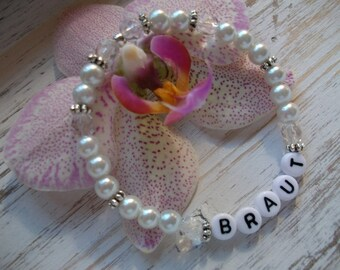 Bridal Bracelet pearl bracelet for the bride