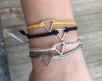 Triangle Hemp Bracelets