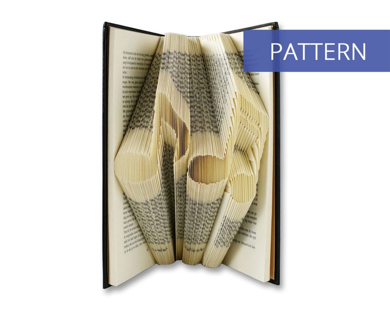 Book Folding Pattern Music  Most clear and easiest pattern on image 0