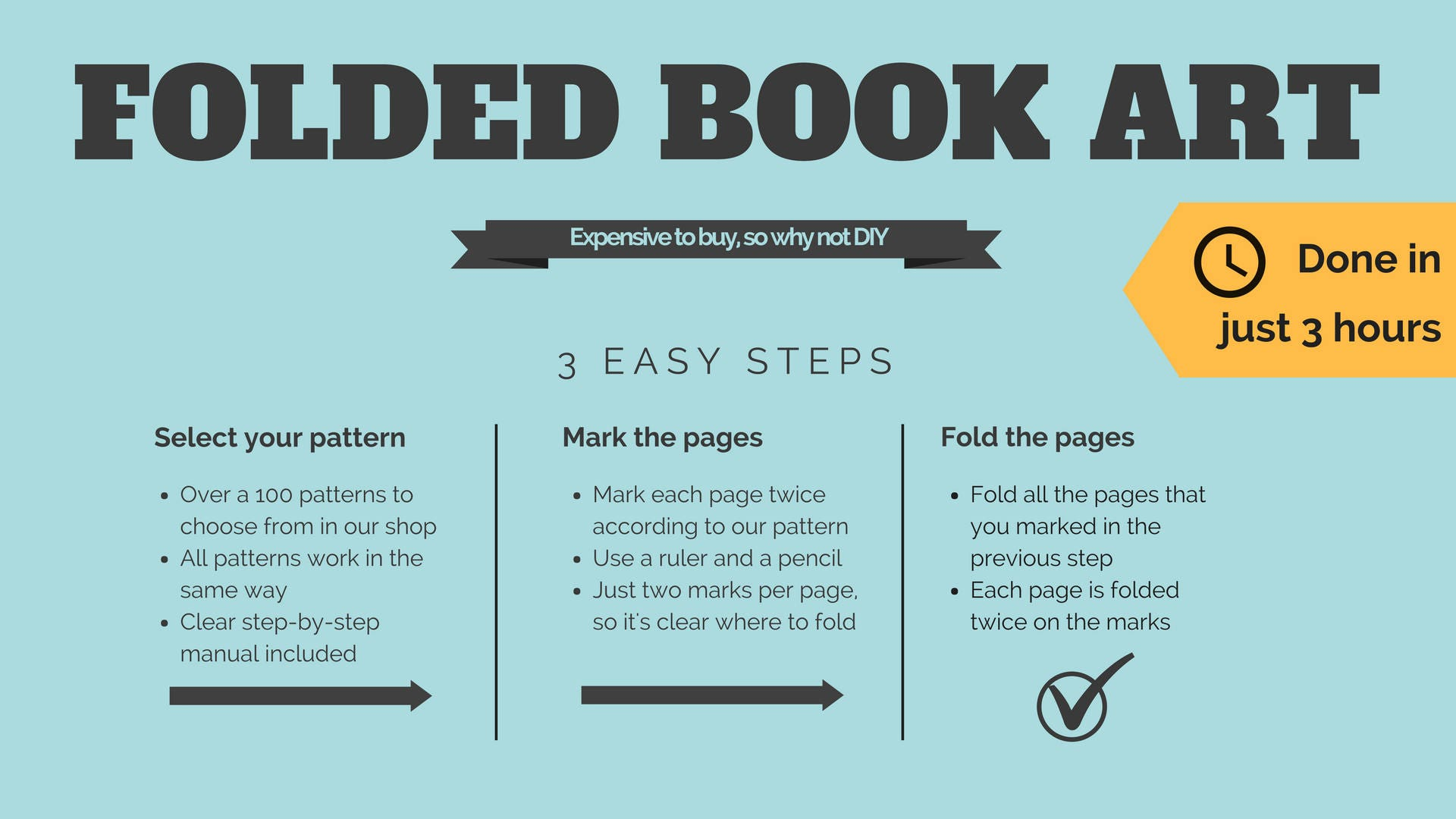 Folded Book Patterns Awesome Decorating Ideas