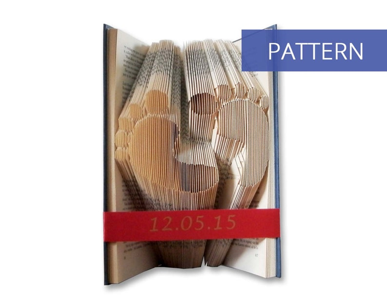 Book Folding Pattern Baby  Most clear and easiest pattern on image 0