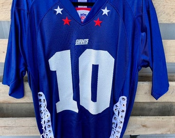 8bbaa67e2 Vintage Eli Manning New York Giants Jersey/ Vinatge New York Giants/ Eli  Manning/ NYG/ NFL Womens Jersey/ Re-worked Vintage