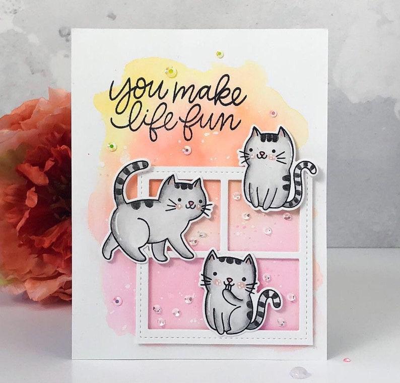 Handmade Greeting Card Love Card Friendship Card image 0