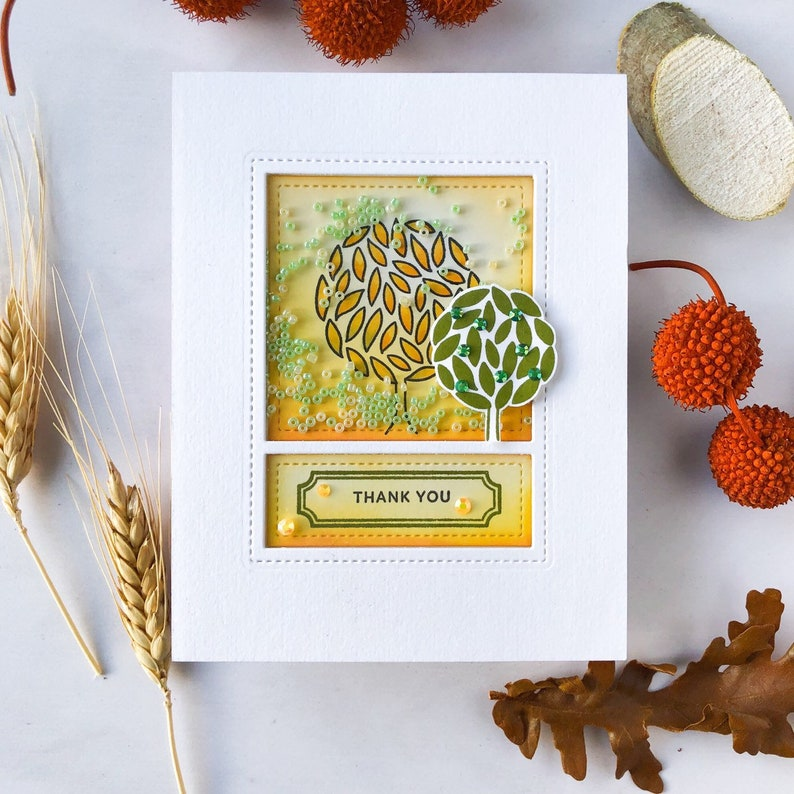 Handmade Greeting Card Thank you Card image 0