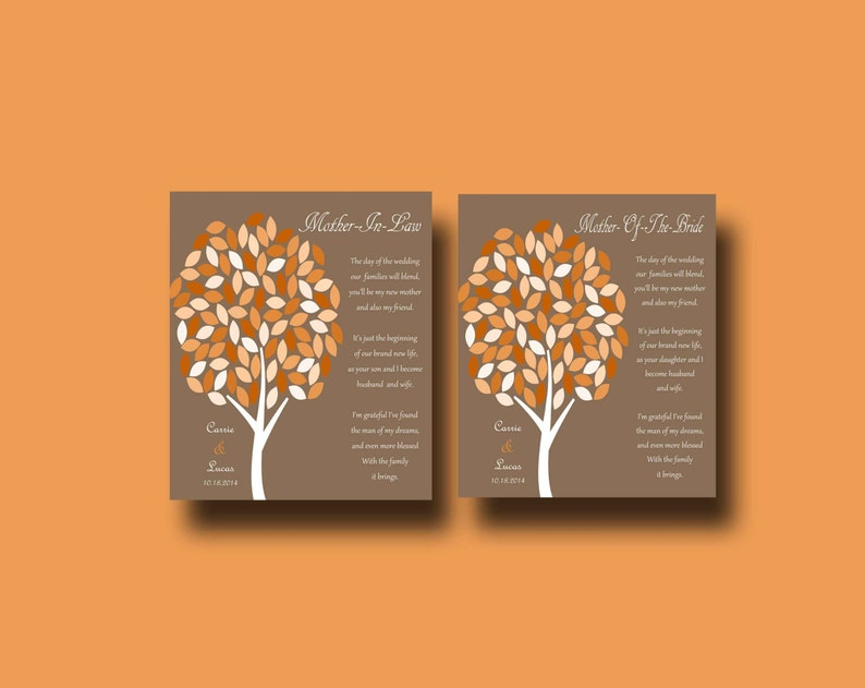 212f1e10ee49 Parents wedding Gift Personalized Parent s Poem Thank