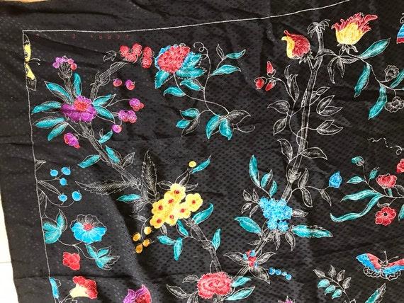 Perry Ellis silk scarf - image 5