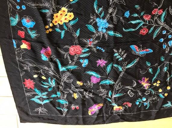 Perry Ellis silk scarf - image 2