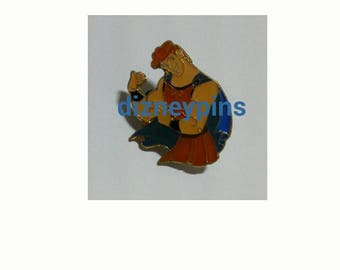 Rare KIDDY LAND Store JAPAN Exclusive Hercules pin / Hero Herc showing his muscle