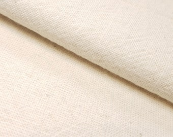 Olympus Japan Azumino-momen hand dyed cotton fabric - Off-white color