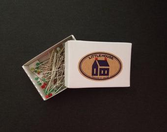 Little House Japan glass head pins - refill pack