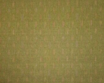 Japanese import new cotton fabric - Morikiku Japan arrow dobby in green