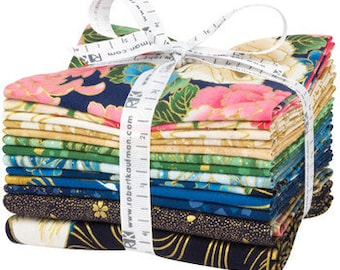 Fat Quarter and panel Bundle: Imperial Collection by Studio RK - Spring Colorstory