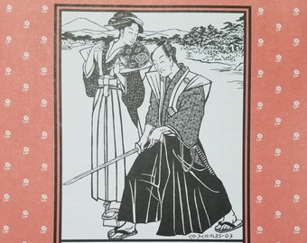 Folkware sewing pattern #151 Japanese Hakama, Hakama Koshiita and Kataginu - all sizes