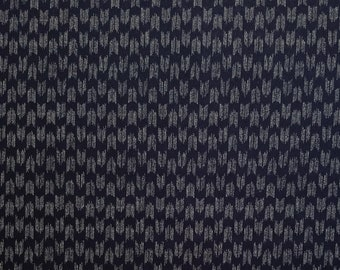 Traditional indigo basics quilting cotton  - Yagasuri Arrow pattern