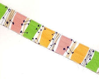 Vintage 1 5/8 inch cotton trim with music notes - 15 yards