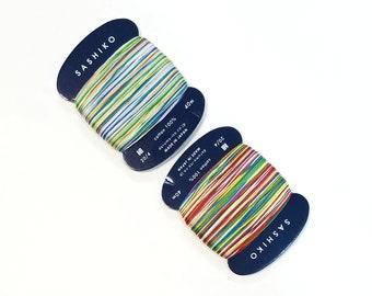 Daruma 20/4 thin sashiko thread - NEW Variegated colors - 40 meter skein
