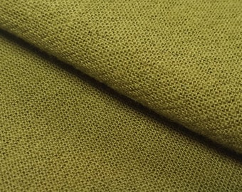Olympus Japan Azumino-momen hand dyed cotton fabric - Olive Green color