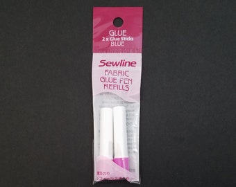 Sewline Water Soluble Glue Pen Refill - Set of 2 blue refills