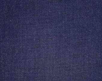 True indigo dyed linen asa fabric